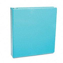 Samsill Antimicrobial 1-Inch Light Blue Presentation View Binder