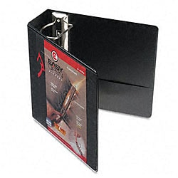 Recycled ClearVue 4-inch EasyOpen D-ring Presentation Binder