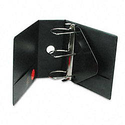 Heavy-Duty 5-inch D-Ring Binder with Label Holder