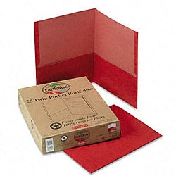 Twin Pocket Portfolios - Recycled (Box of 25)