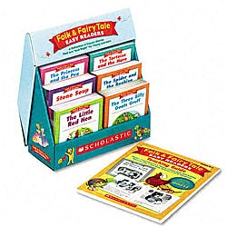 Folk & Fairy Tale Easy Readers Books (Grades K-2)