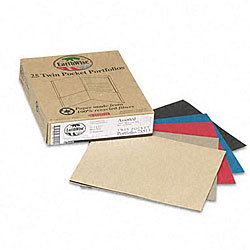 Twin Pocket Portfolios - Recycled (25 per Box)