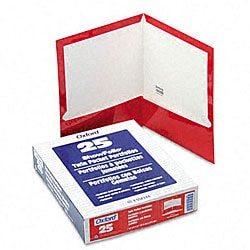 Laminated 100-sheet Two-pocket Portfolios (25 per Box)