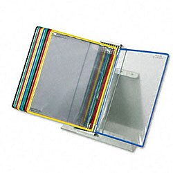 Foldfive Desk Unit with 10 Display Pockets