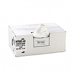Classic 56-gallon Low-density Can Liners (Case of 100)