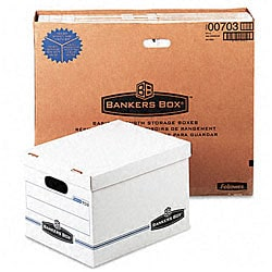 Fellowes Stor/File Storage Boxes with Lids (Pack of 12)