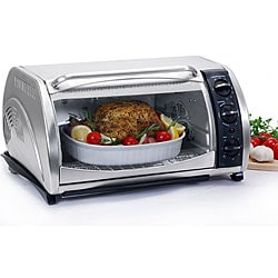 Stainless Steel Multifunction Toaster Oven