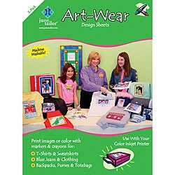 Art-Wear Iron-on Design Sheets (Pack of 3)