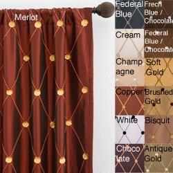Helena Rod Pocket 120-inch Curtain Panel