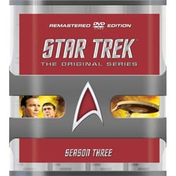 Star Trek: The Original Series Season Three Remastered (DVD) 4024069
