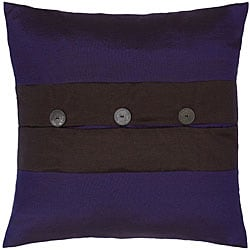Midnight Blue/ Black Thai Silk Cushion Cover