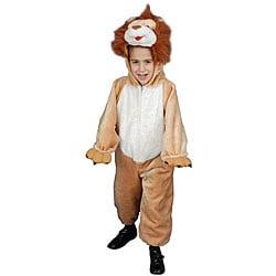 Boy's Plush Lion Costume