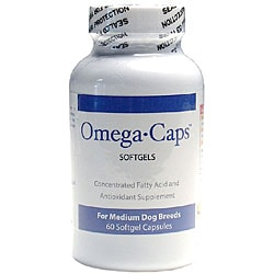 Omega-Caps Medium Dogs Softgels (Pack of 60)