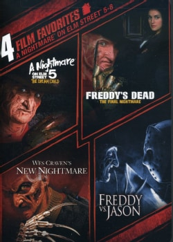4 Film Favorite: Nightmare on Elm Street 5-8 (DVD) 4049494
