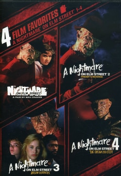 4 Film Favorite: Nightmare on Elm Street 1-4 (DVD) 4049498