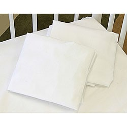 LA Baby Fitted Full Size Crib Sheet