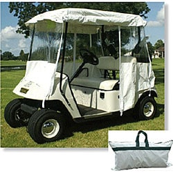 'All Season' White Golf Cart Cover Compare Value Golf Gear and Apparel -
