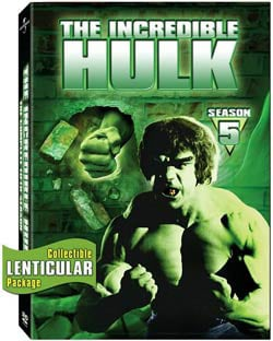 The Incredible Hulk: The Complete Fifth Season (DVD) 4079855
