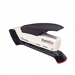 Black/White PaperPro Prodigy Spring Powered Stapler