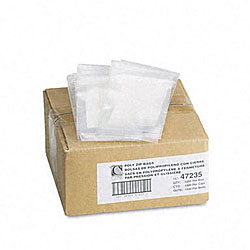 Reclosable Small Parts Bags with Write-On Panel (1,000 per Box)