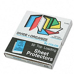 Transparent Pastel Top-load Sheet Protectors