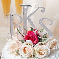 Personalized Crystal Cake Toppers
