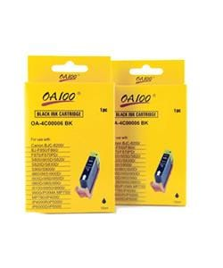 Black Ink Cartridges for Canon BCI-6BK (Pack of 2)