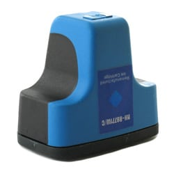 HP 02 Cyan Ink Cartridge (Remanufactured)
