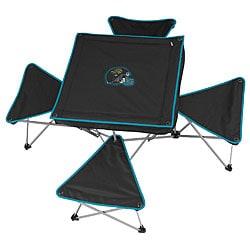 Jacksonville Jaguars Folding Table and Stool Set
