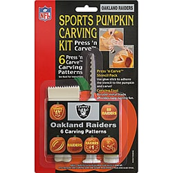 Oakland Raiders Pumpkin Carving Kit 4168785