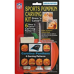 Carolina Panthers Pumpkin Carving Kit
