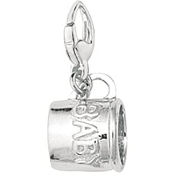 Sterling Silver Baby Cup Charm 4168839