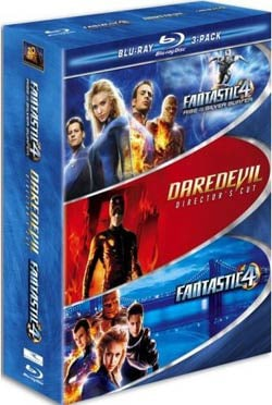 Marvel 3 Pack (Fantastic Four / Fantastic Four: Rise of the Silver Surfer / Daredevil) (Blu-ray Disc) 4174514