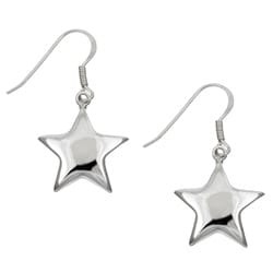 Sterling Essentials Sterling Silver Star Drop Earrings