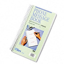 Tops Spiralbound 'While You Were Out' Message Book