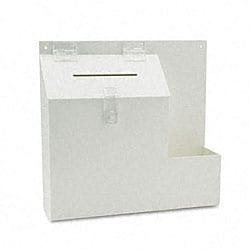 Deflecto Plastic Locking-top Suggestion Box