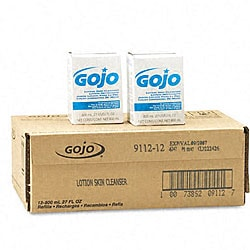 Go-Jo Lotion Skin Cleanser Refill (Pack of 12)