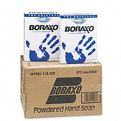 Dial Boraxo Powdered 5-pound Box Hand Soap (Pack of 10)