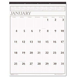 One-month-per-page Wall Calendar