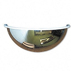 Half-dome Convex 18-inch Security Mirror