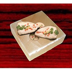 Black Tai Himalayan 6x6x2 Medium Himalayan Salt Plate