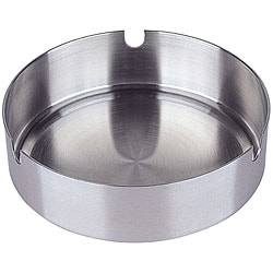 Satin Finish Stainless Steel Ashtray