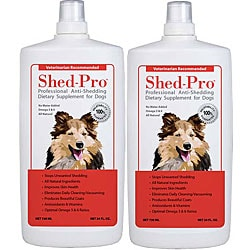 Shed Pro Dog Supplement (Pack of 2)