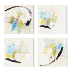 Ross Lindsay 'Incredible Facade I II IV V' 4-piece Canvas Art Set