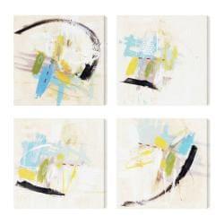 Ross Lindsay 'Incredible Facade I II IV V' 4-piece Canvas Art Set