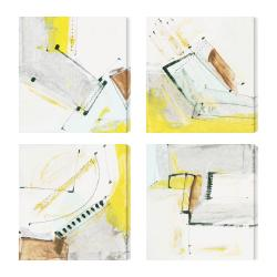 'Proposition I-IV' Giclee Canvas Wall Art (Set of 4)