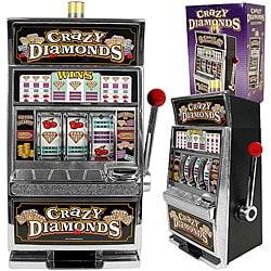 Crazy Diamonds Slot Machine Bank - Replica