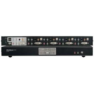IOGEAR GCS1784 4-Port Dual Link DVI KVMP Switch with 7.1 Audio and Ca