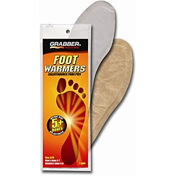 Small/ Medium Foot Warmer Insoles (Pack of 30 Pair)