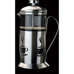 French Press 5-cup Stainless Steel Coffee/ Tea Maker 4329678